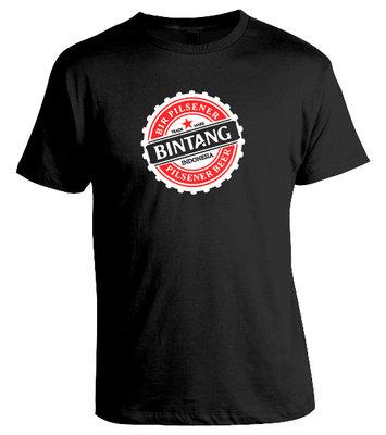 Tshirt BINTANG (zwart)