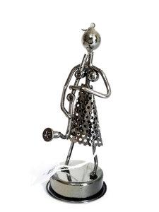 Muzikant vrouw, saxofoon