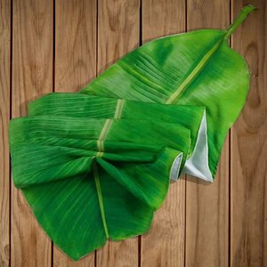 Tafelkleed /table-runner Pisang/bananenblad