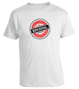 Tshirt BINTANG (wit)