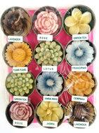 Geur kaarsjes bloemen (12stuks)