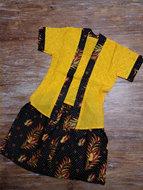 Kebaya Kutu geel 2-3jaar/S