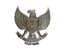 Garuda Pancasila van ijzer