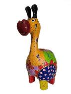 Spaarpot gekleurd Giraf